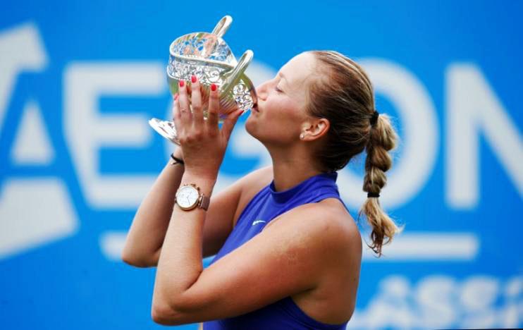 Petra Kvitova withdraws from Eastbourne International with abdominal injury