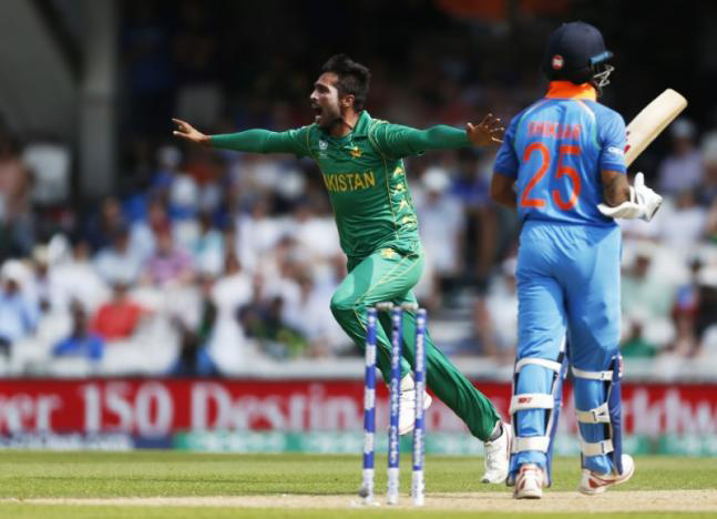 Pakistan crush India by 180 runs to lift Champions Trophy