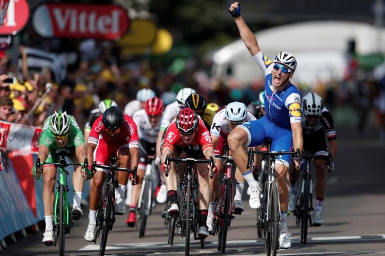 Tour de France Stage 6: Marcel Kittel beats Arnaud Demare in Troyes