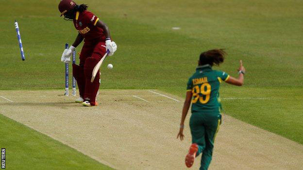 West Indies bowled out for 48, 6th lowest total ever