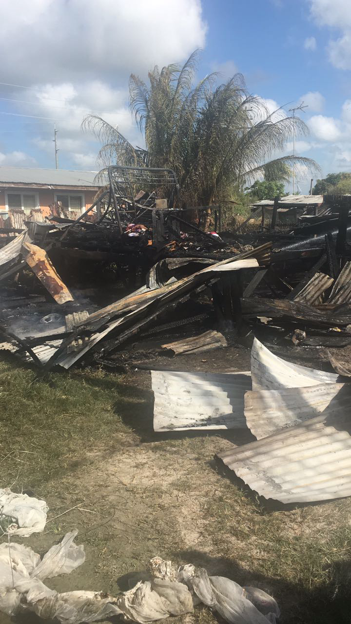 Warder Brother Lose Sophia Home To Fire Stabroek News