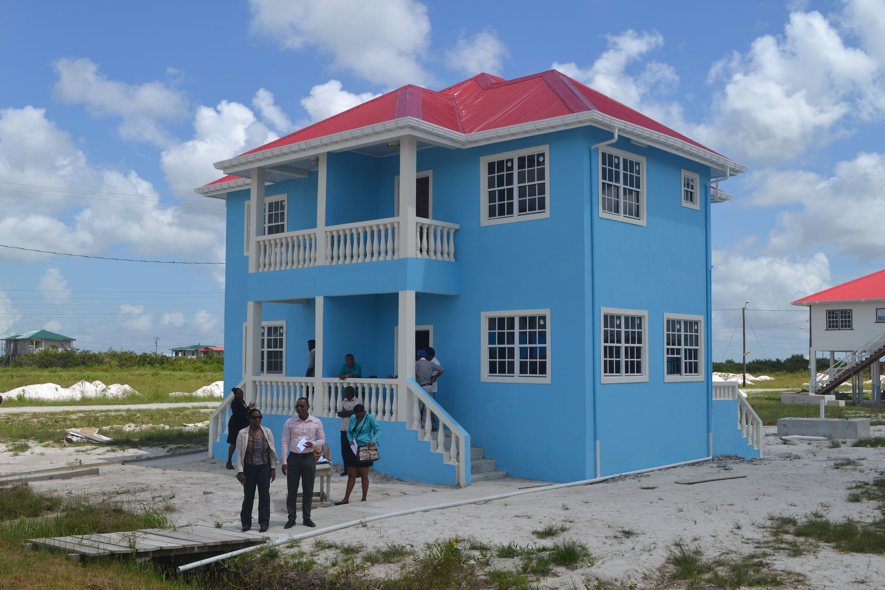 Home owners get keys to verance model homes – Stabroek News on flat house in canada, flat houses us, flat house in cambodia, flat houses in spain, flat house in latvia, flat houses in trinidad, flat house with garage, flat house in singapore, flat houses in london, flat house design,