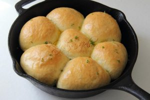 Minced Meat Bread Rolls Photo by Cynthia Nelson