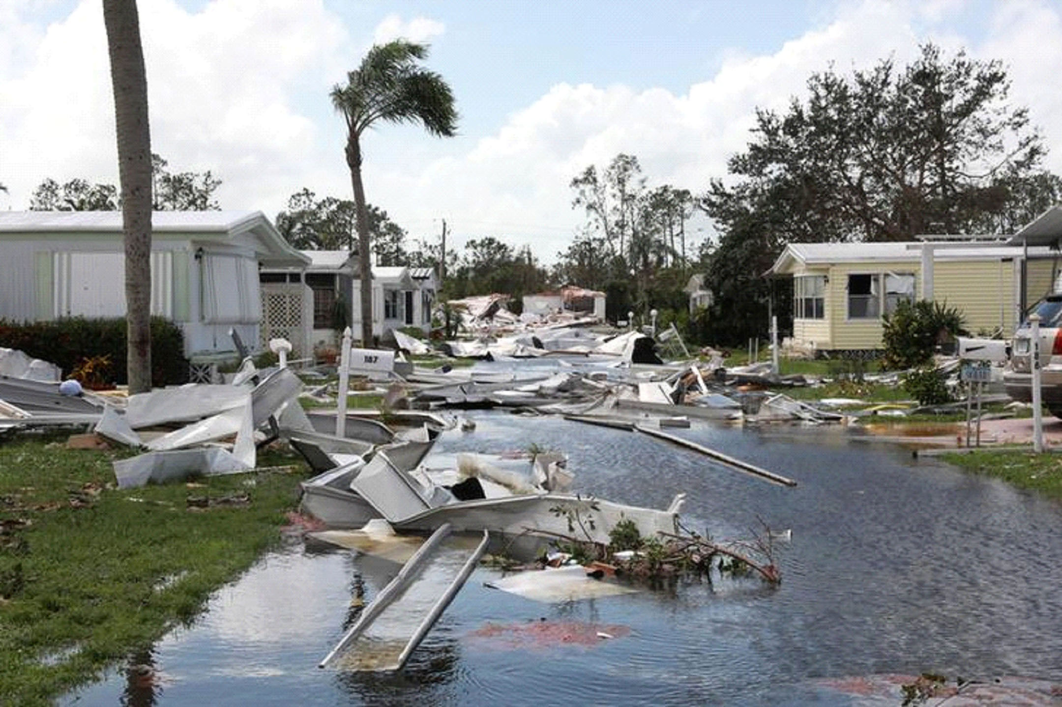 Devastating videos show Hurricane Irma as it rips through Florida