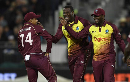 Windies bat against England in delayed 1st ODI