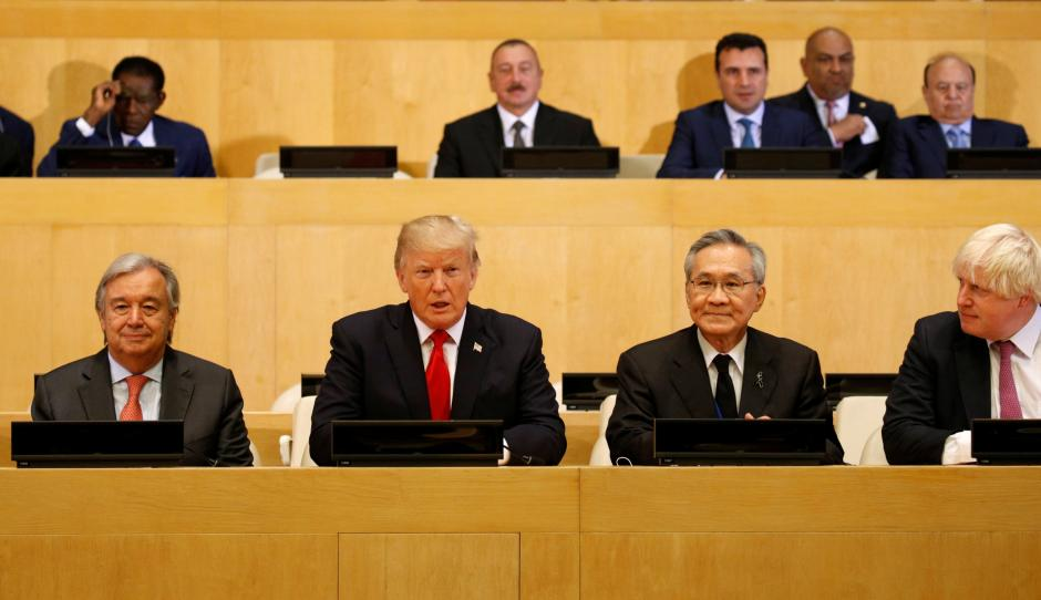White House expected to preview Trump's first United Nations summit