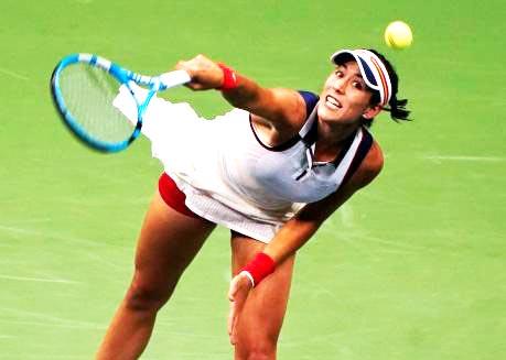 Muguruza retires ill as US Open victor Stephens beaten at China Open