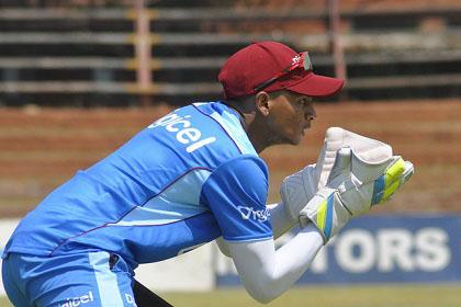 West Indies bats in opening test vs. Zimbabwe