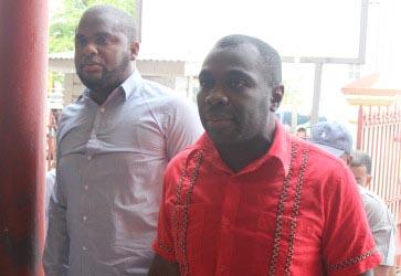 Jason Abdulla (at left) and Kwame McCoy