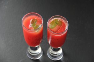 Watermelon & Moscato Wine Cooler (Photo by Cynthia Nelson)