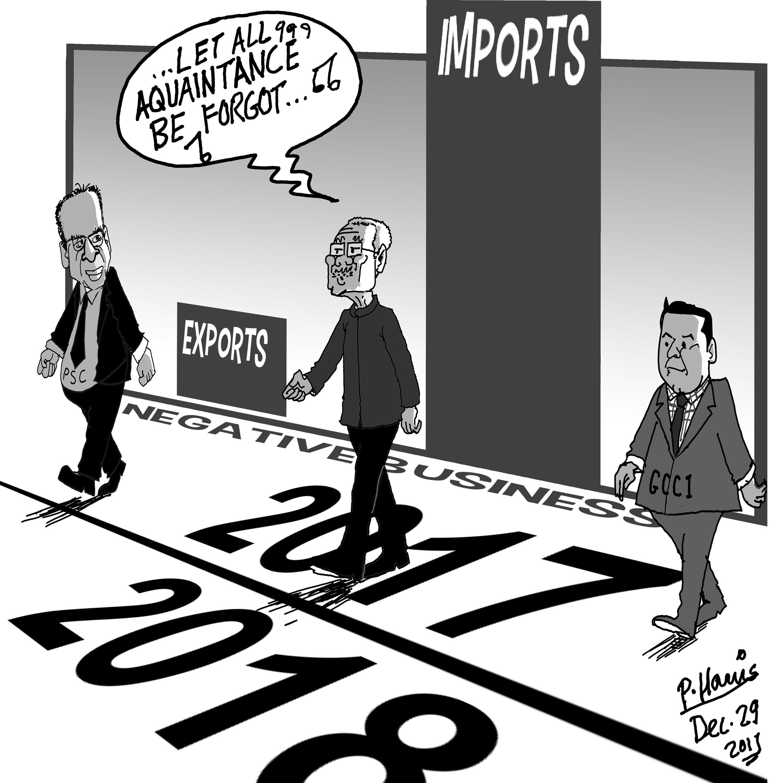 business cartoons stabroek news