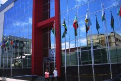 The CCJ HQ in Trinidad and Tobago