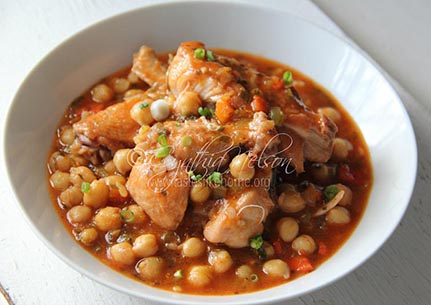 Chicken & Chickpea Stew Photo by Cynthia Nelson