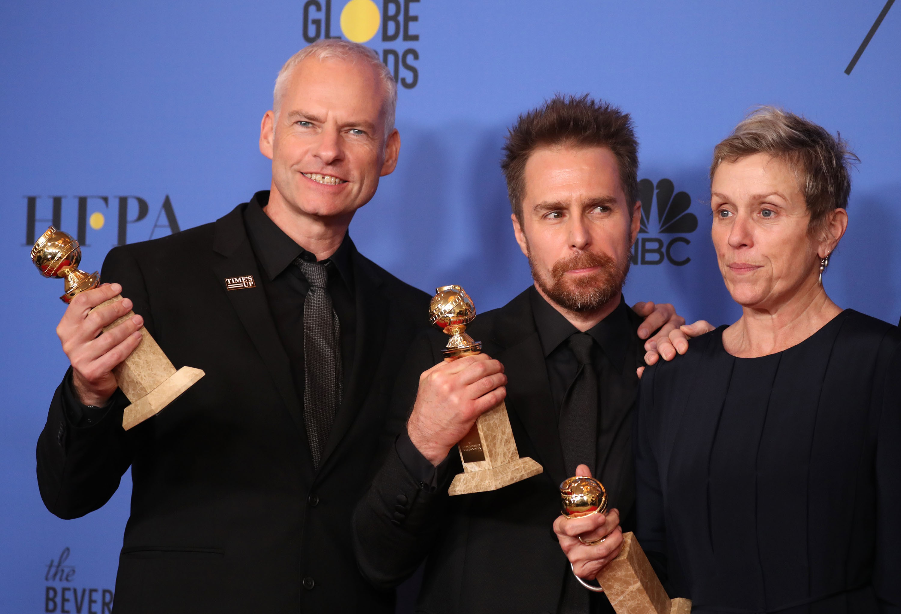 Frances McDormand deserves an Oscar for Martin McDonagh's superb Three Billboards