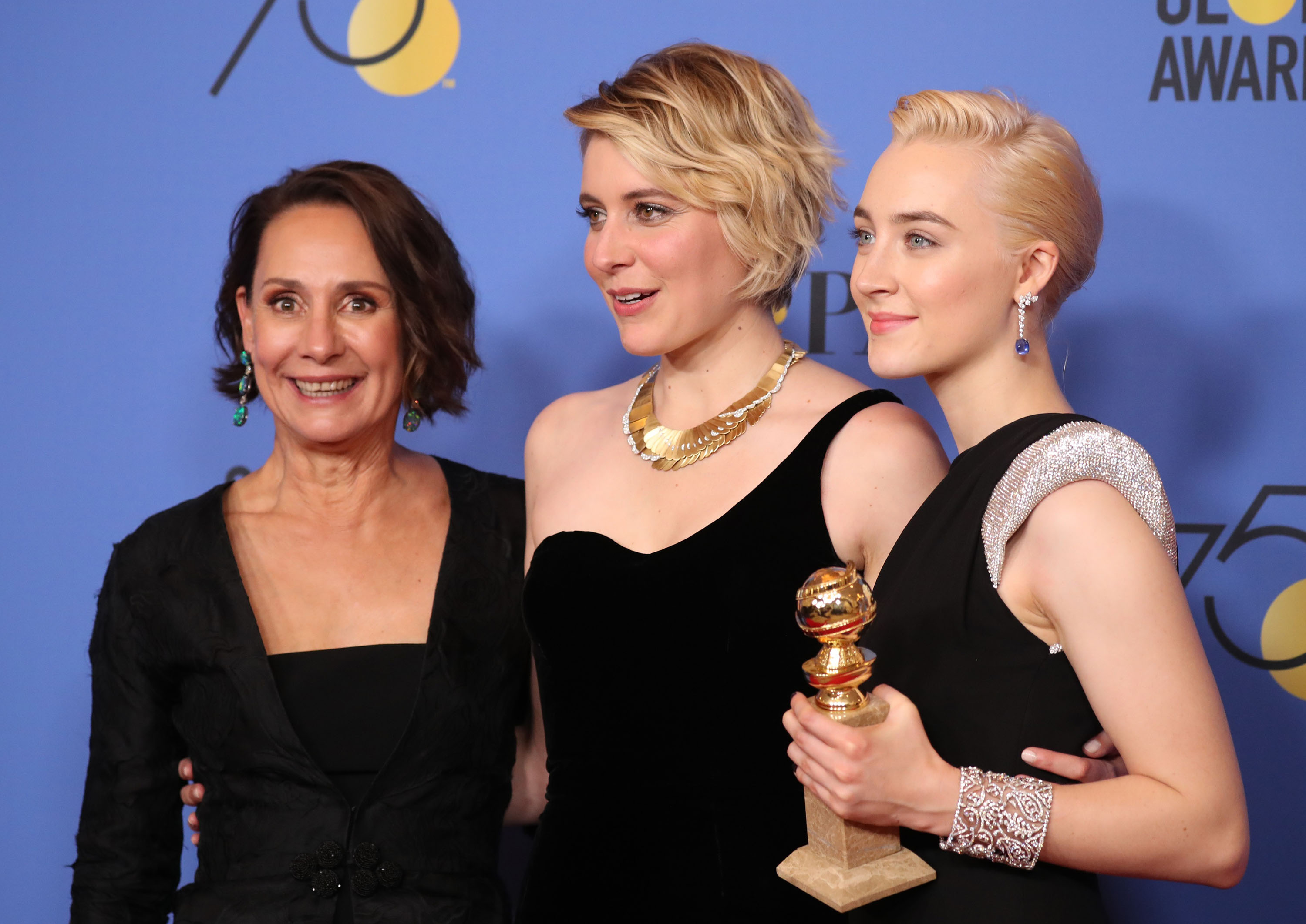 'Big Little Lies', 'Three Billboards…' win big at 75th Golden Globes