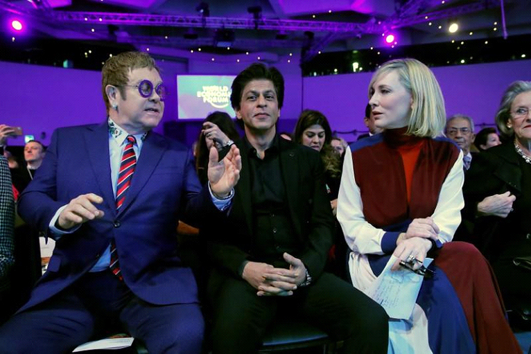 At World Economic Forum, Actor Shah Rukh Khan Gets Special Mention