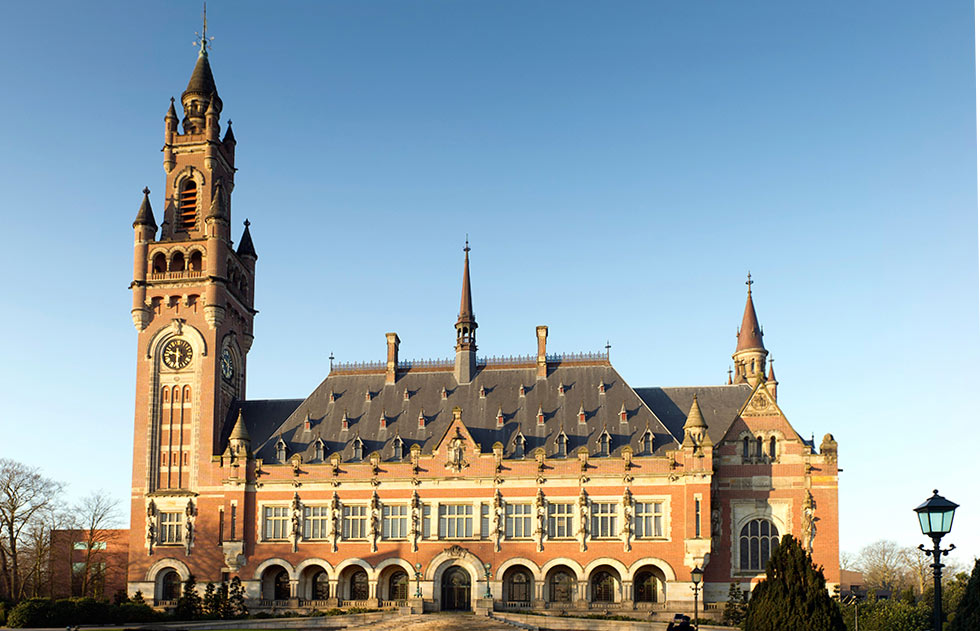 The ICJ in The Hague