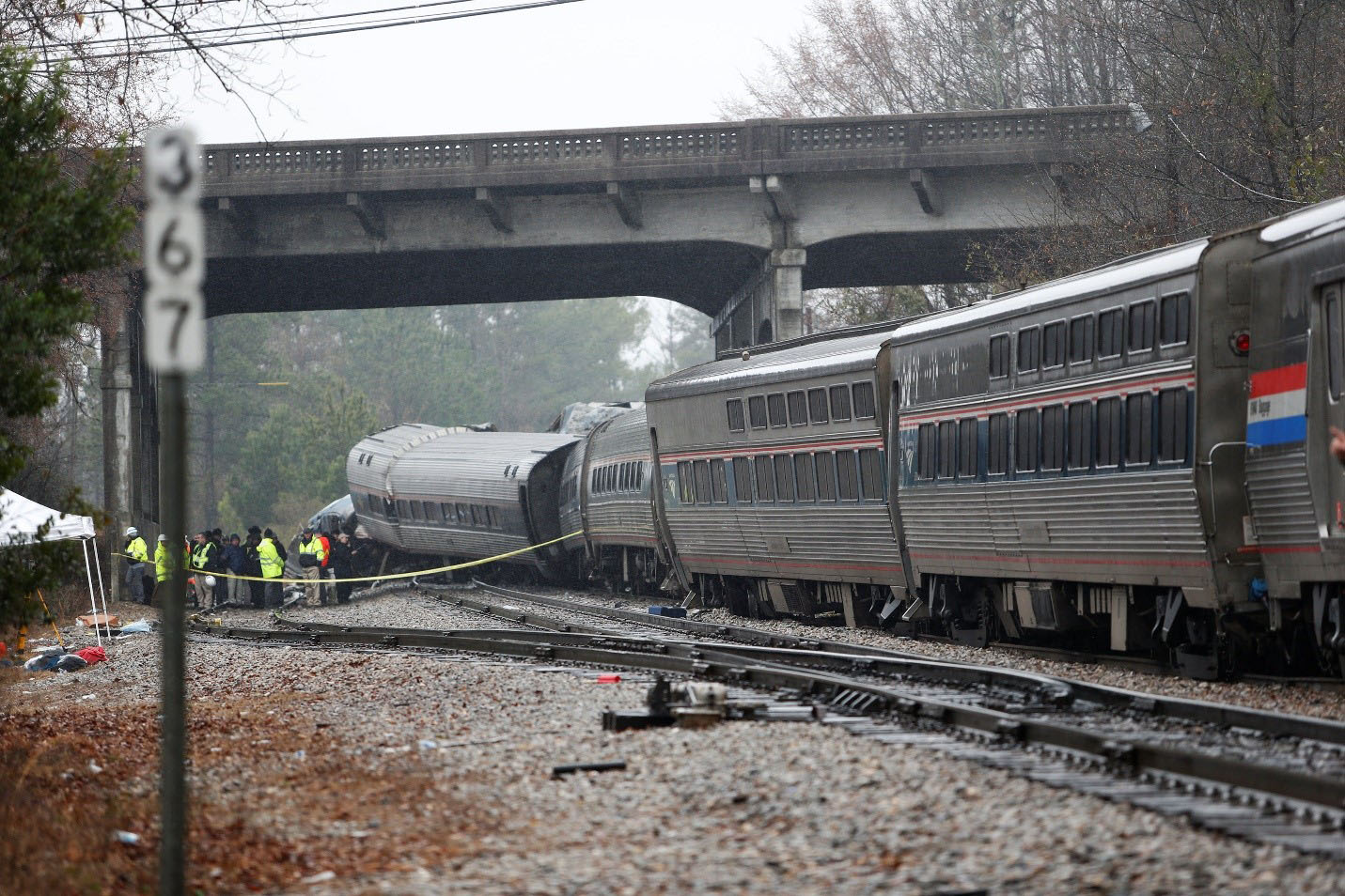 At Least Two Dead in South Carolina Amtrak Crash