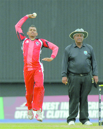 West Indian Sunil Narine reported again for suspect action