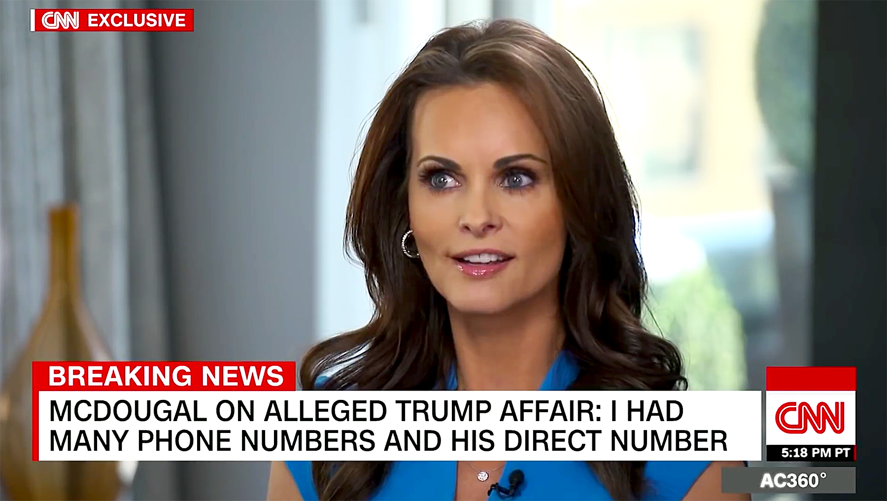 Trump tried to pay me after sex, says ex-Playboy model