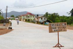 Road rehabilitation in Mahdia (MPI photo)