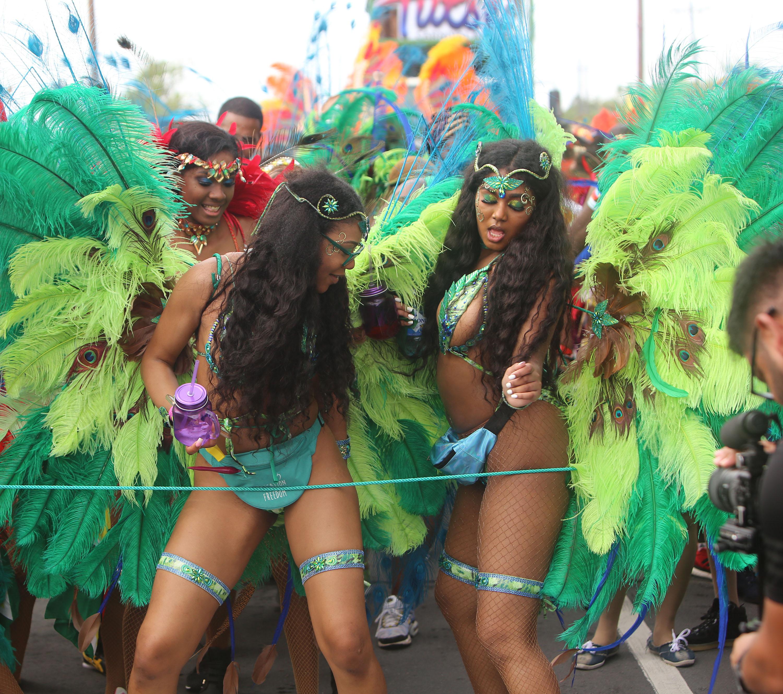 rain fails to dampen inaugural guyana carnival stabroek news