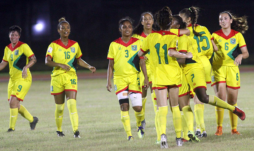 d5c870f9 Lady Jags, Bermuda battle to 2-2 draw - Stabroek News