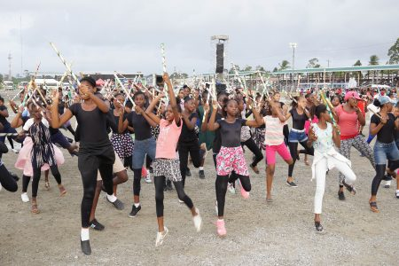 Guyana's 52nd Independence Anniversary celebrations will focus predominantly on the country's youth. Minister of Social Cohesion, Dr. George Norton, who paid a site visit to the rehearsals yesterday at D'Urban Park, said that works were done at the Homestretch Avenue venue to enhance its scenery for the hosting of this national event today. He also took the opportunity to encourage persons to come out and celebrate Guyana's cultural diversity and to participate in an event which, among other things, aims to promote social cohesion.