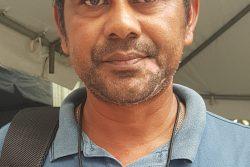 Toshao Shawn Kartright of Karasa-bai Village, South Pakaraimas.