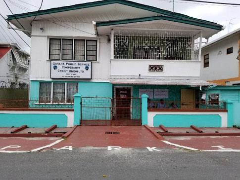 The GuyanaPublic Service Cooperative Credit Union headquarters