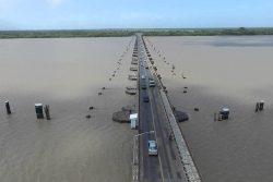 The Demerara Harbour Bridge (Department of Public Information photo)
