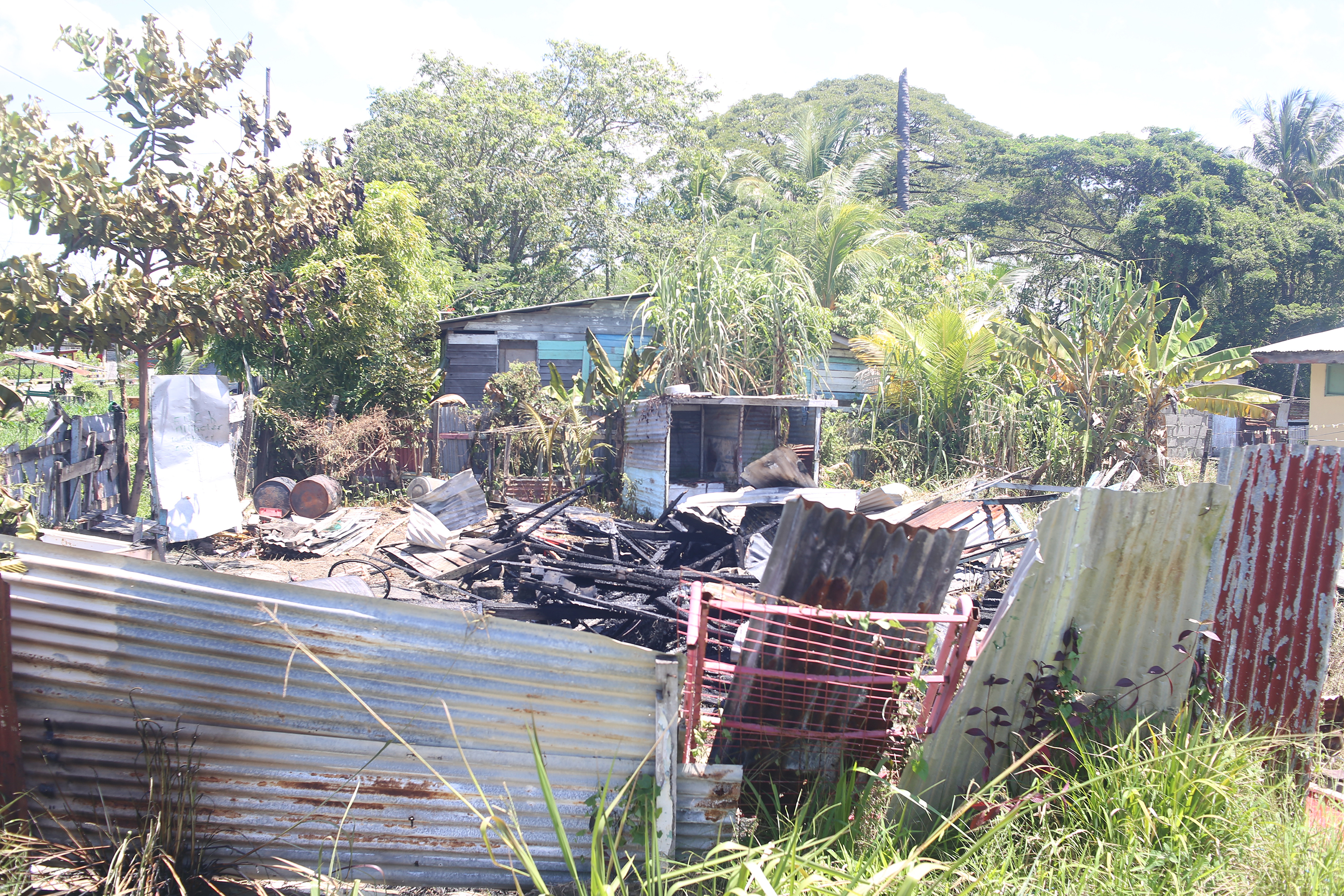 Sophia house torched after row between brothers stabroek for Sophia house