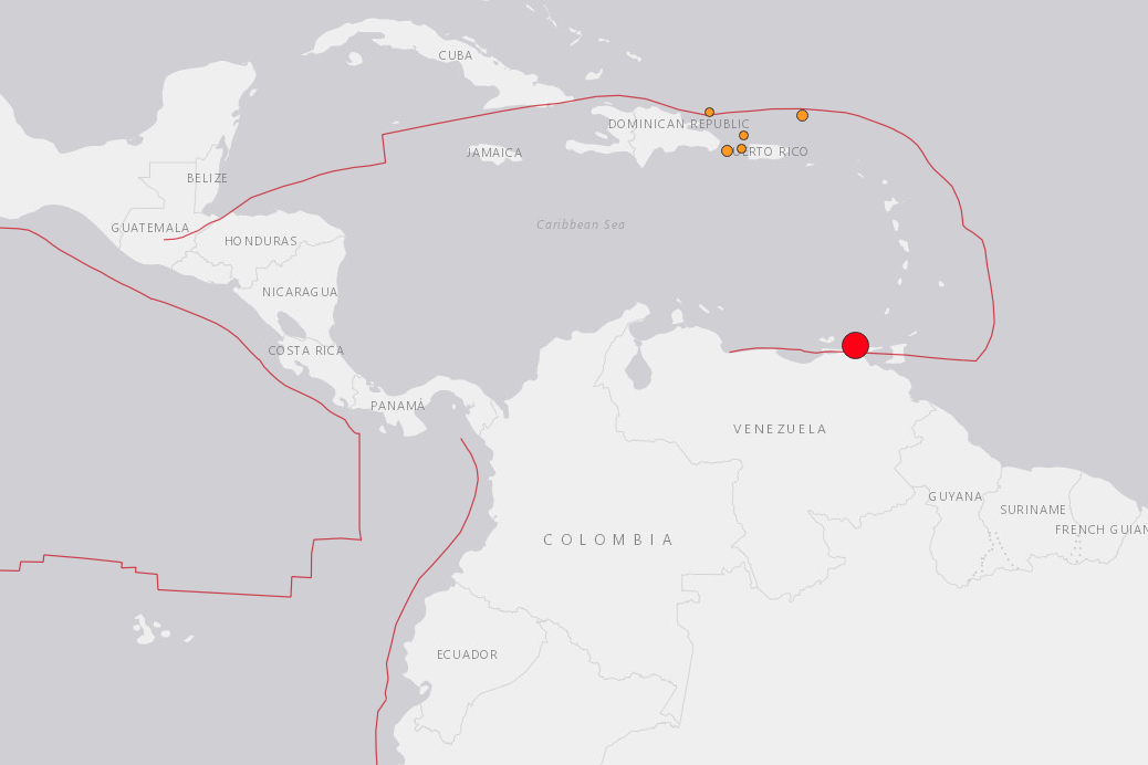 Strong 7.3 magnitude quake rocks Venezuela but little damage reported
