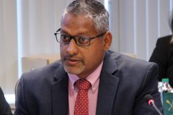 Trinidad Agriculture Minister Clarence Rambharat