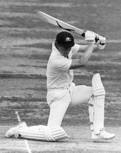 News Photo : Australian batsman Kim Hughes in the | Kim
