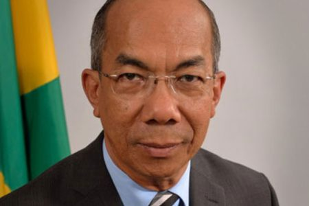 National Security Minister Dr Horace Chang
