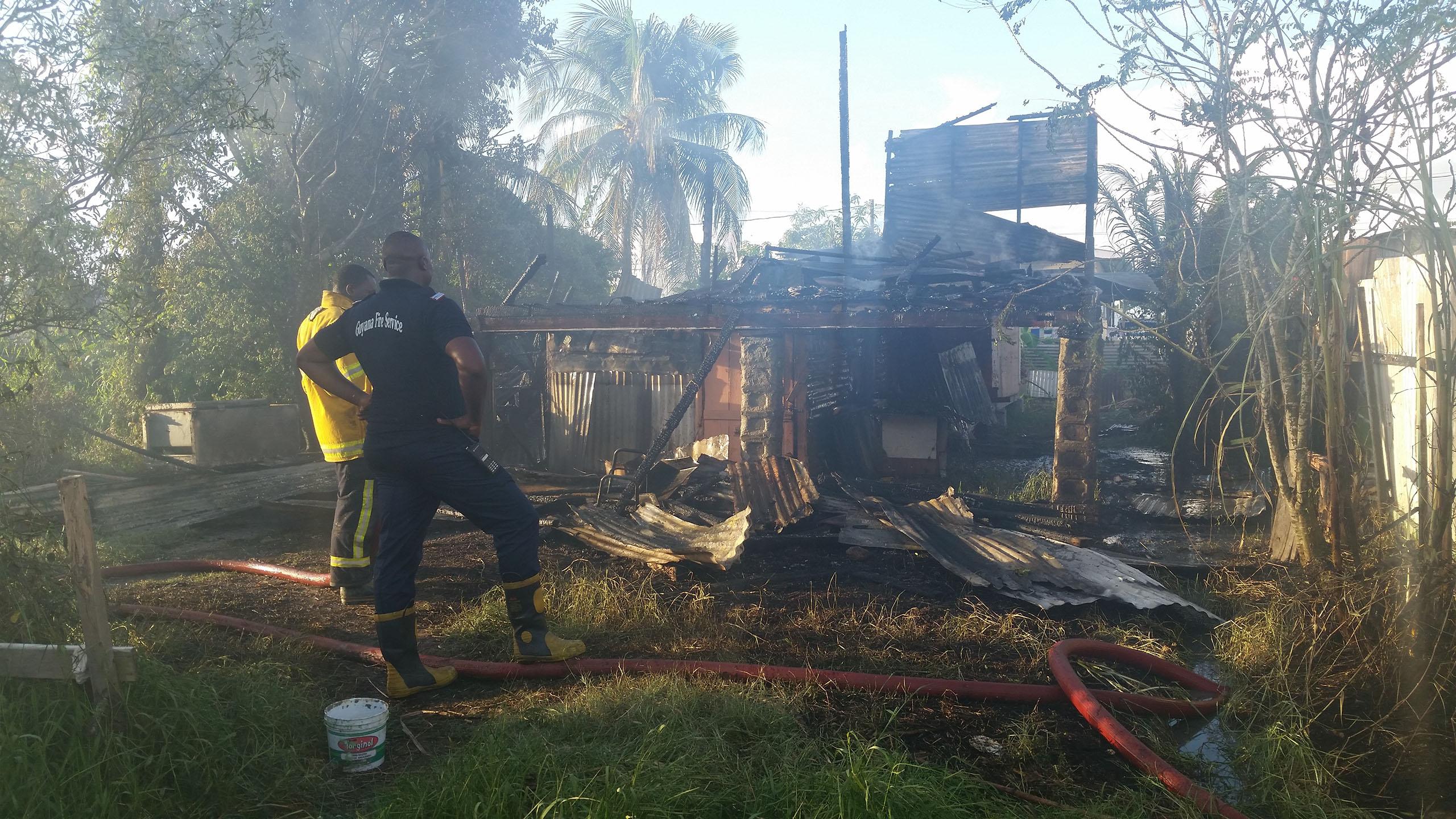 D field sophia house goes up in flames stabroek news for Sophia house