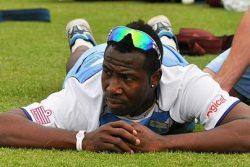 Andre Rusell is set to undergo knee surgery and will miss next month's Regional Super50 competition