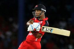 Lendl Simmons' unbeaten knock of 52 helped the Red Force to book their semifinal spot.