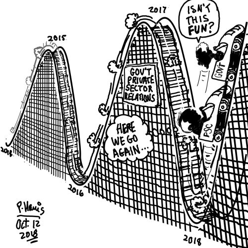 business cartoon stabroek news