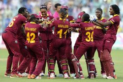 The West Indies women's team will be looking to defend their ICC World T20 title on home soil.