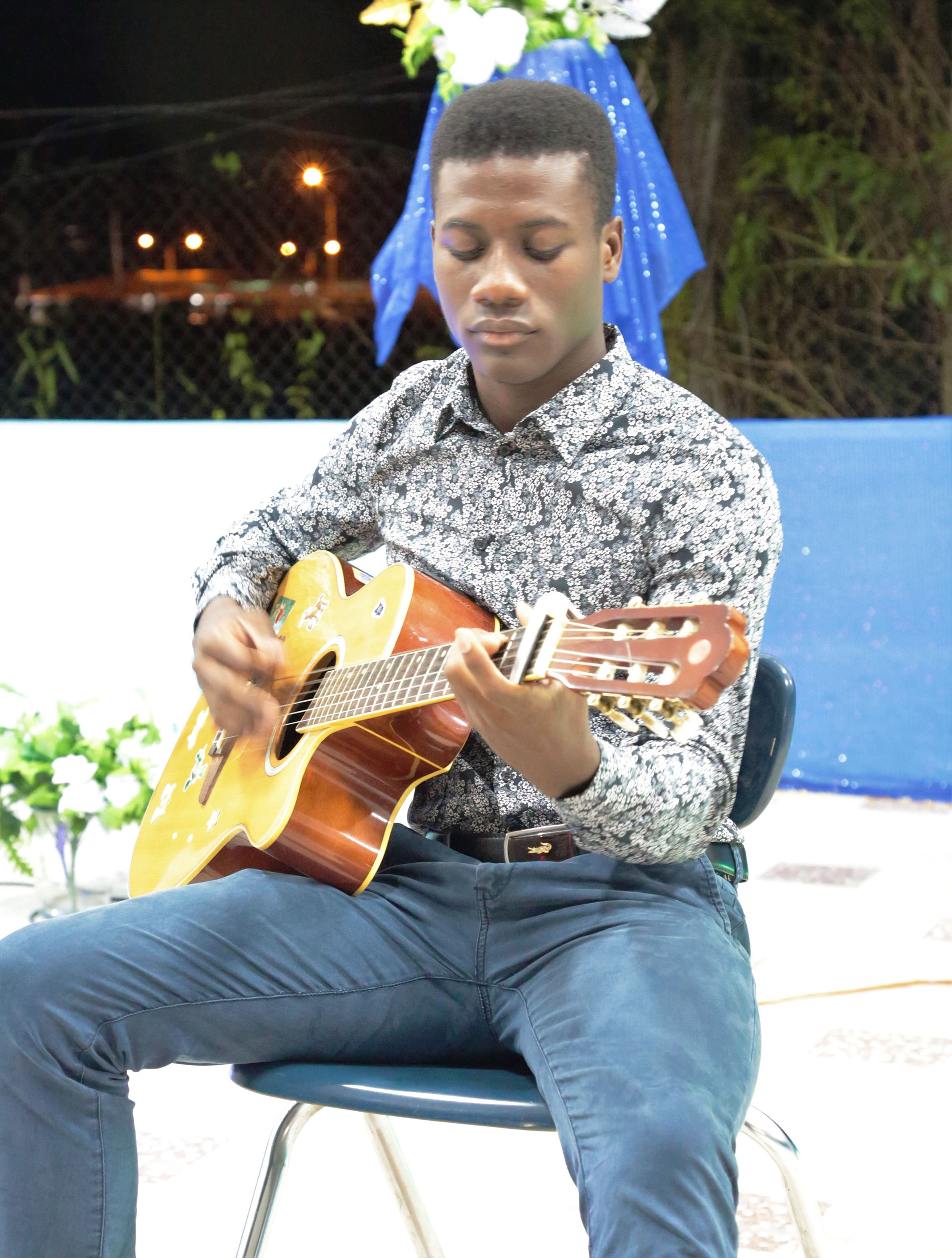 Guitarist Jermaine Kendall Has A Passion For Music Stabroek News