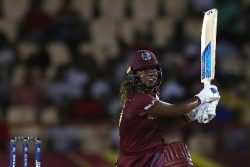 Opener Hayley Matthews … put on 94 for the first wicket with Deandra Dottin against Sri Lanka.