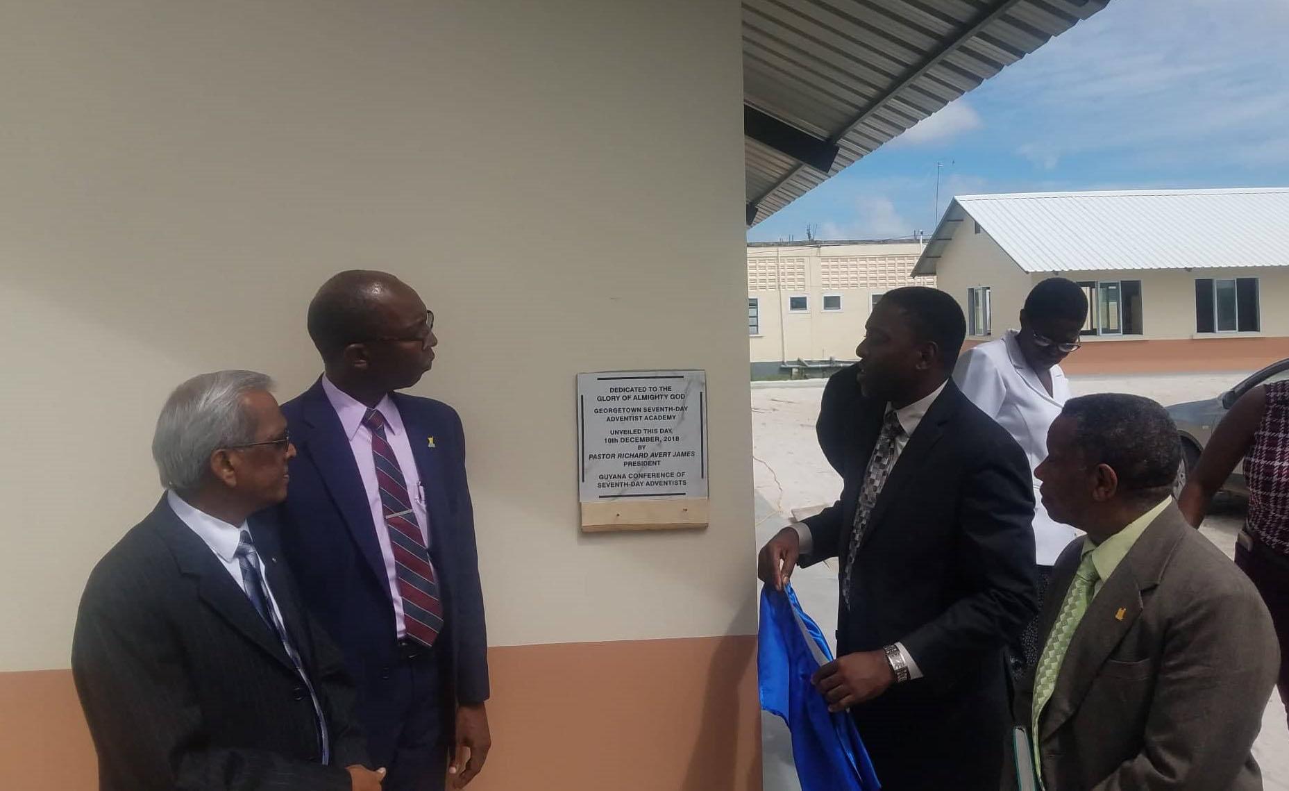 Seventh Day Adventists launch school - Stabroek News