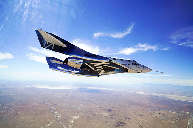 Virgin Galactic Takes Next Step Towards Space Tourism