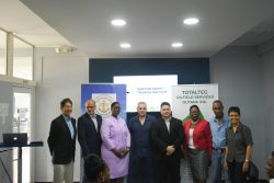 Officials at the launching of the training institute (Department of Public Information photo)
