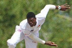 Fast bowler Alzarri Joseph