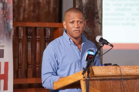 Director of the Department of Energy Dr Mark Bynoe
