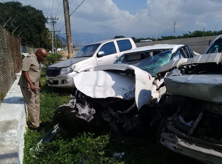 Jamaica: Dancehall artiste Munga Honorable involved in car crash
