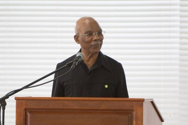 President David Granger (DPI photo)